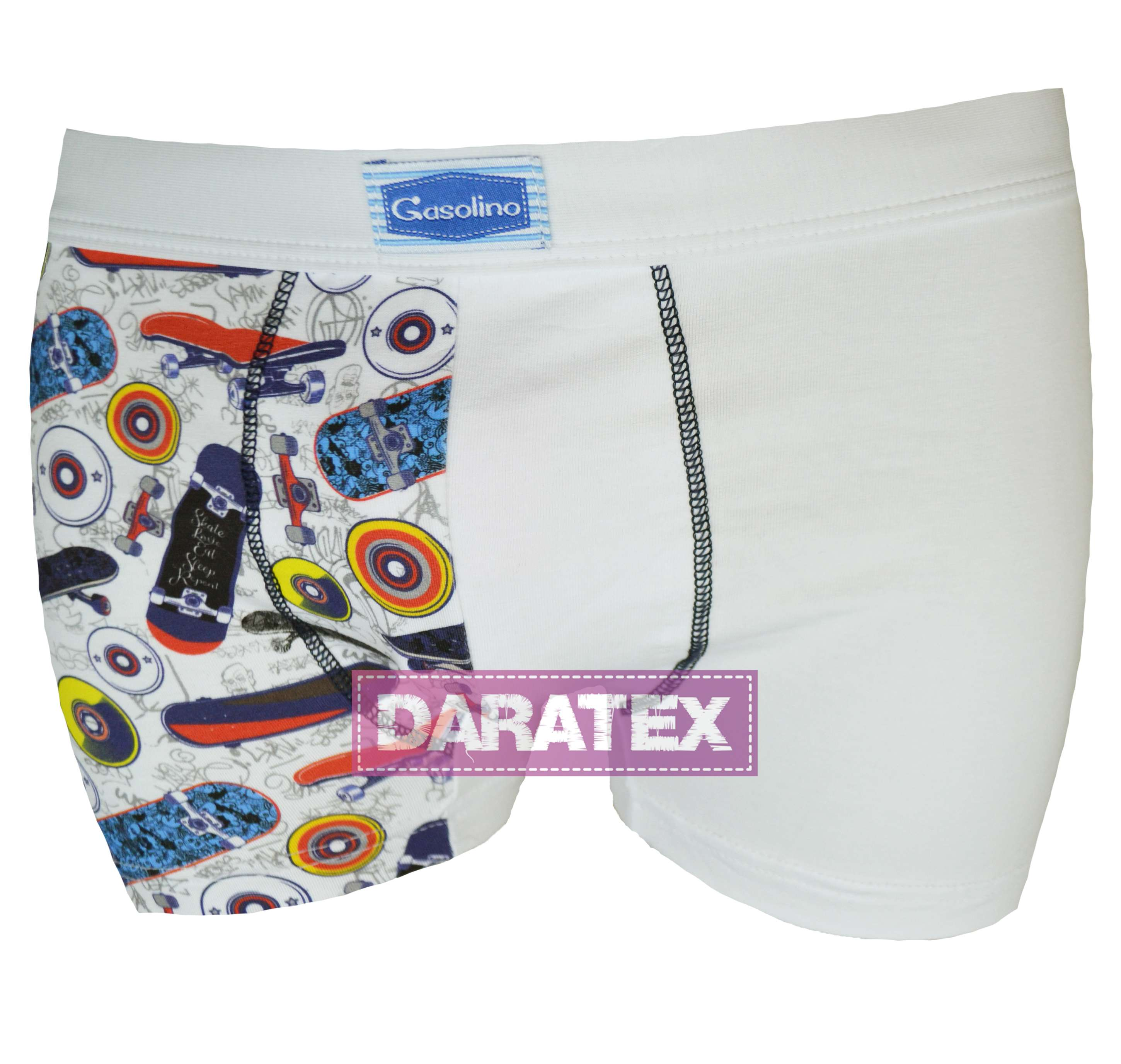 Gasolino chlapecké boxerky 3216 bianco
